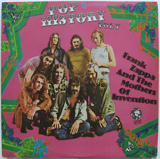 FRANK ZAPPA And The MOTHERS OF INVENTION Pop History Vol. 7 BRAZIL 1972 ORG LP