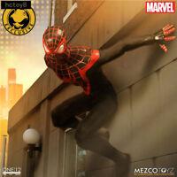 "Marvel Universe Spider-Man Miles Morales 1:12 Collector 6"" Action Figure Black"
