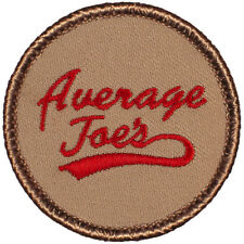 Cool Boy Scout Patches- Average Joe's Patrol! (#037)