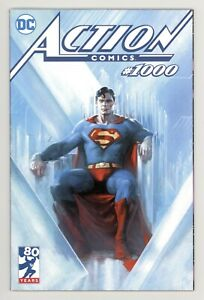 Action Comics #1000 Gabrielle Dell'Otto TRADE Variant SUPERMAN Bulletproof Cover