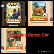 Coin Master Cards Argentina Ranch 1X Set