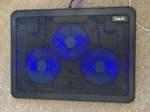 HAVIT HV-F2056  15.6 inch-17 inch Notebook Cooling Pad 3 Fans USB - Black