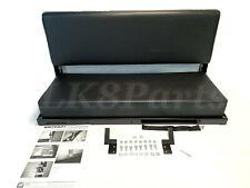 LAND ROVER DEFENDER 90 D90 REAR BENCH SEAT BLACK VINYL 320737 NEW