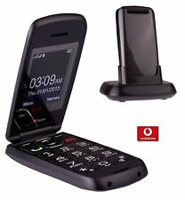 Ttfone Star Big Button Flip Pay As You Go Payg Mobile Phone Vodafone Grey