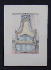 LA TENTURE FRANÇAISE 1904 - Lit Louis XVI - ameublement décoration 143