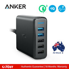 Anker PowerPort Speed 5-Port USB Wall Charger - Black