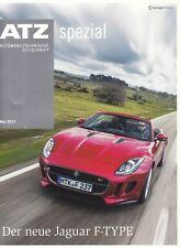 JAGUAR F-TYPE ATZ Special Technik Vorstellung Test Prospekt Brochure Magazin T