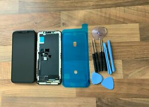 BLACK iPhone X Assembly OEM OLED Digitizer Touch Screen LCD Replacement UK SALE