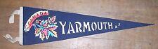 "Vintage Pennant YARMOUTH  NOVA SCOTIA  CANADA -22 1/2"" x 6 1/2"""