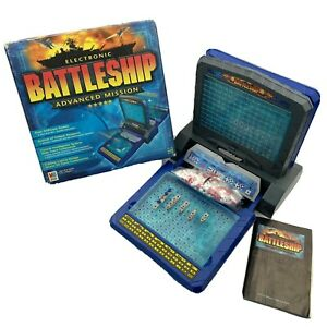 Electronic Battleship Advanced Mission by MB 2000 Complete - Tested & Working!