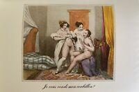 Paris Biedermeier Petting Penis Vagina Sex Cum Adultery Love Art Orgie Erotik