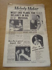 MELODY MAKER 1955 NOVEMBER 12 WEST END ERIC DELANEY LENA HORNE GARGOYLE CLUB +