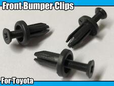 10x Front Bumper Fascia Retainer Trim Clips For Toyota Corolla Rav4 Camry MR2