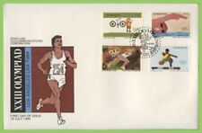 Olympics First Day Cover Zimbabwe Stamps (1965-Now)