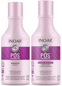 INOAR POS Progress Duo Shampoo & Conditioner Post Keratin Treatment Kit 250 ml