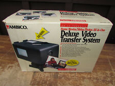 Ambico Deluxe Video Transfer System Movie Editing v-0650 excellent condition.