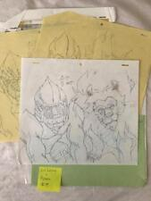 TRANSFORMERS JAPANESE BEAST WARS 2 II PRODUCTION ART! LIO CONVOY APACHE LOT 9
