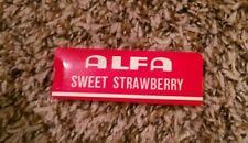 Vintage 1960s ALFA Sweet Strawberry Cigarette Rolling Paper RARE!