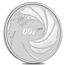 TUVALU 1 Dollar Argent 1 Once James Bond 007 2020