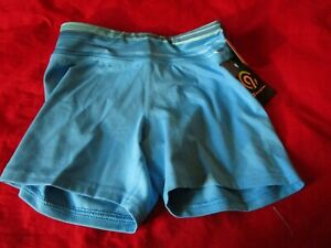 Champion C9 Duo Dry Girl's Blue Short Stretch Athletic Shorts Size L 10-12