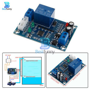 Full Automatic Water Level Controller XH-M203 Pump Switch Relay Module AC/DC 12V