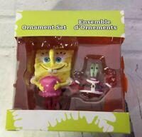 Nickelodeon Spongebob Squarepants Mr. Krabs Ensemble Ornament Set Christmas 2006