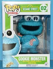FUNKO MIB # 02 SESAME STREET COOKIE MONSTER Pop! Vinyl Figure AWESOME