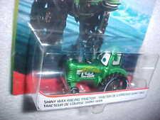 "HW DISNEY PIXAR CARS ""SHINY WAX RACING TRACTOR"" VHTF NEW"