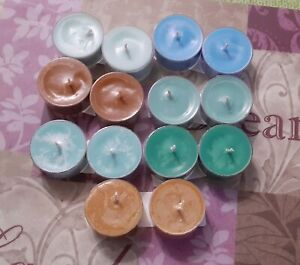 TEA LIGHTS  YOU PICK SCENTS & COLORS  HANDMADE  HIGHLY SCENTED