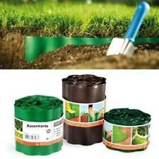Beeteinfassung Rasenkante Rasenbegrenzung 9m Beetumrandung Mähkante 3 Farben