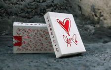 LOVE ME USPCC BICYCLE DECK OF PLAYING CARDS BY THEORY11 POKER SIZE MAGIC TRICKS