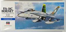 Hasegawa D08 F/A-18C HORNET 1/72 scale kit