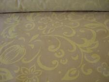 LAURA ASHLEY PALE MAUVE & WHITE COTTON PRINT CURTAIN FABRIC - 140cm x 135cm wide