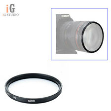 55mm Multi Coated MCUV UV Lens Filter Protector for Nikon Canon Sony Sigma Camer