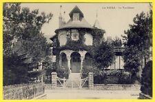 """cpa 44 - LA BAULE Superbe VILLA """"La TYROLIENNE"""" vers 1900 Collection T.H."""