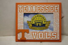 """2 Tennessee Vols Volunteers Wood 8 """"x 7"""" Frame New  Wooden holds 4""""x 6"""" Photo"""