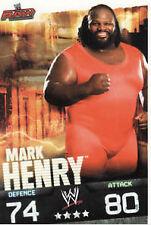 WWE Slam Attax Evolution - Mark Henry Raw Card