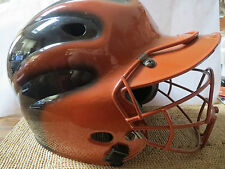 Wilson Batting Helmet, Model A5226 (6 3/4-7 3/4) with Batter's Helmet FaceGuard