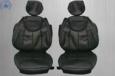 Sitzbezüge passend für Mercedes Benz SL R230 , schwarz  NEU