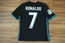 KIDS 13-14Y #7 RONALDO REAL MADRID 2017/18 AWAY FOOTBALL SHIRT JERSEY CAMISETA