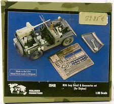 Verlinden 1548 | M38 Jeep Detail & Accessories Set _ Resin | 1:35 -NEU-