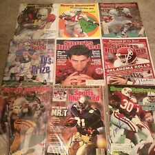 SPORTS ILLUSTRATED Signed Heisman Trophy winners Lot Griffin Crow Brown +