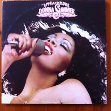 Donna Summer, Live And More - Disco 2 x Vinyl Lp Record (Cald 5006)