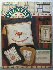 Daisy Kingdom Country Cut-Outs No-Sew Appliques 19128 Rocking Horse Soldier Drum
