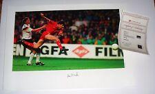 Liverpool Soccer Star Ian Rush SIGNED 17X23 Print A1 COA Free Shipping