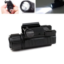 Tactical LED Flashlight with 20mm Quick Release Picatinny Rail Mount for Hunting