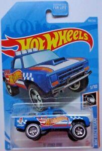 2021 Hot Wheels HW RACE TEAM 1/10 '87 Dodge D100 168/250 (Blue)