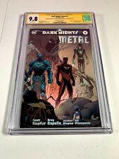 Dark Nights: Metal #5 Planet Comic con CGC 9.8 Signed Capullo   Glapion   Synder