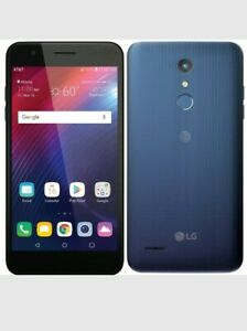 Unlocked LG Xpression Plus 16GB GSM Smartphone, Moroccan Blue