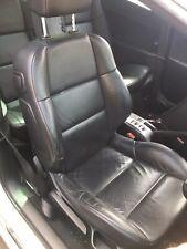 Peugeot 307cc Black Leather Interior